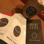 タリーズコーヒー - 2018/01 2018年タリーズコーヒー福袋のドリンクチケット