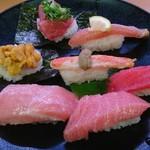 スシロー - 料理写真:豪華7貫盛り(980円)