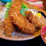 銭形 - 大牡蠣フライ