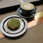 Len - 抹茶クッキー&カフェラテ