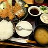 """和幸 - 料理写真:""""しょうぶ"""" 一口ひれカツ・海老フライ・茄子のはさみ揚げ・茶碗蒸し"""