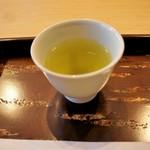 山田屋まんじゅう 元 - お茶