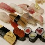 寿司正 - 料理写真:おまかせにぎり