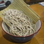 庵蔵 立ち喰い蕎麦バル - 蕎麦(太め)