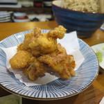 庵蔵 立ち喰い蕎麦バル - 鶏天
