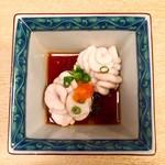 喜久寿司 - 白子ポン酢