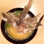 喜久寿司 - あら汁