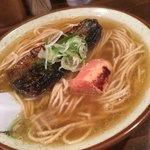 麺道はなもこし - 料理写真:本日のSP〜にしんと焼き明太〜