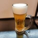 美味in家しげ - 生ビール