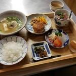 食堂ことぶき - 旬汁三菜