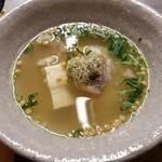 食堂ことぶき - 真鯛のとろろ蒸し