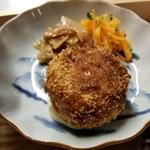 食堂ことぶき - 桜海老と春キャベツのコロッケ