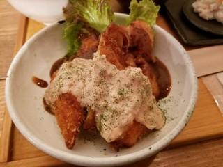 カフェ カホ - 若鶏ムネ肉サクサクチキンカツ