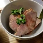 食堂ことぶき - 鴨のグリル 焼き野菜