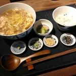 78822173 - 黄ニラの卵とじのおそばセット【2017.12】