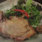 青い鳥のレストラン - 鶏のコンフィ