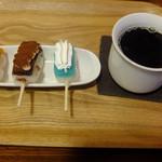 Cafe De Dango - 全部セット ティラミスだんご、ラムネホイップ、ほくほくかぼちゃあん