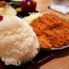 とんかつ 麻釉 - 料理写真:大盛りご飯に500gのヒレ肉とんかつ。