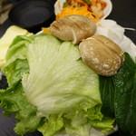 もつ鍋・もつしゃぶ たきもと - 野菜