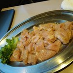 銀鍵3・6焼肉店 - 豚ガツ
