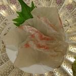 かっぱ亭 - 鯛の刺身