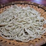 三合菴 - 天せいろ 蕎麦部分