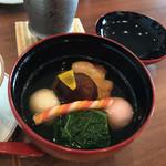 寿司割烹 「ともづな」 - 雑煮
