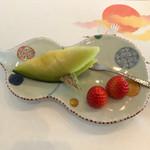 寿司割烹 「ともづな」 - フルーツ