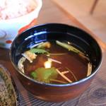 とんかつの廣 - お味噌汁