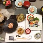 玉井別館 - 料理写真:夕食