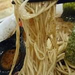 らーめん おっぺしゃん - 自家製細麺ストレート