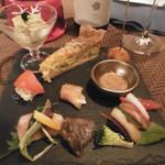創作料理とワインのお店 上田 慎一郎 - 盛り合わせ