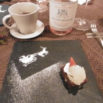 創作料理とワインのお店 上田 慎一郎 - デザートとお茶