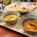 インド亭 - 料理写真:おすすめ三種カレー