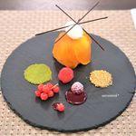 デセール ミヤジマ - 柿のタルト