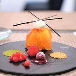 デセール ミヤジマ - 料理写真:柿のタルト