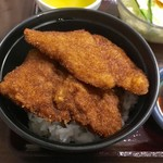 ヨーロッパ軒 - レディースカツ丼セット