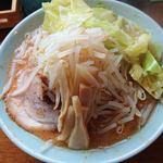 らーめん めんりゅう - 味噌らーめん(830円)モヤシ大盛