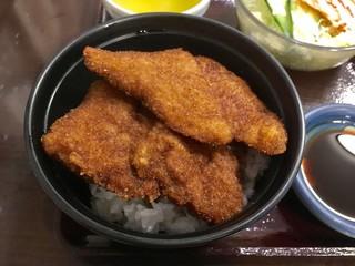 ヨーロッパ軒 総本店 - レディースカツ丼セット