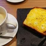 78835001 - Wチーズトーストとバターコーヒー