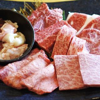 ◆◆食べ放題で極上和牛の希少部位が味わえる◆◆