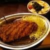 ゴールドカレー - 料理写真:Gカツカレー(M)と野菜サラダ