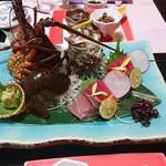 サン浦島  悠季の里 - 料理写真:刺身盛り合わせ