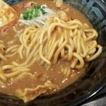 78839873 - 濃厚うまこくカレーらーめん 麺UP