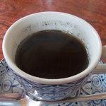 銀河のほとり - 黒豆と黒米(?)のコーヒー