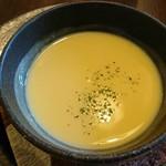ブラッスリー三幸 - コーンスープ