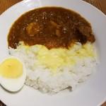 カリーヤ ボン - ポークカレー(小盛) 790円 + ハーフチーズ 90円