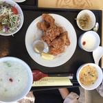 薬膳 天地・礼心 東方人康食養館 - 鶏のから揚げ