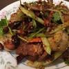 中華料理一家人 - 料理写真:前菜の牛スネ肉とハチノスの四川和え