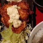 京まる - チキン南蛮ランチ。